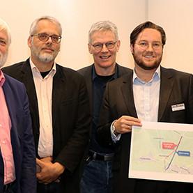 """Startschuss """"Grenzweg""""-Projekt"""