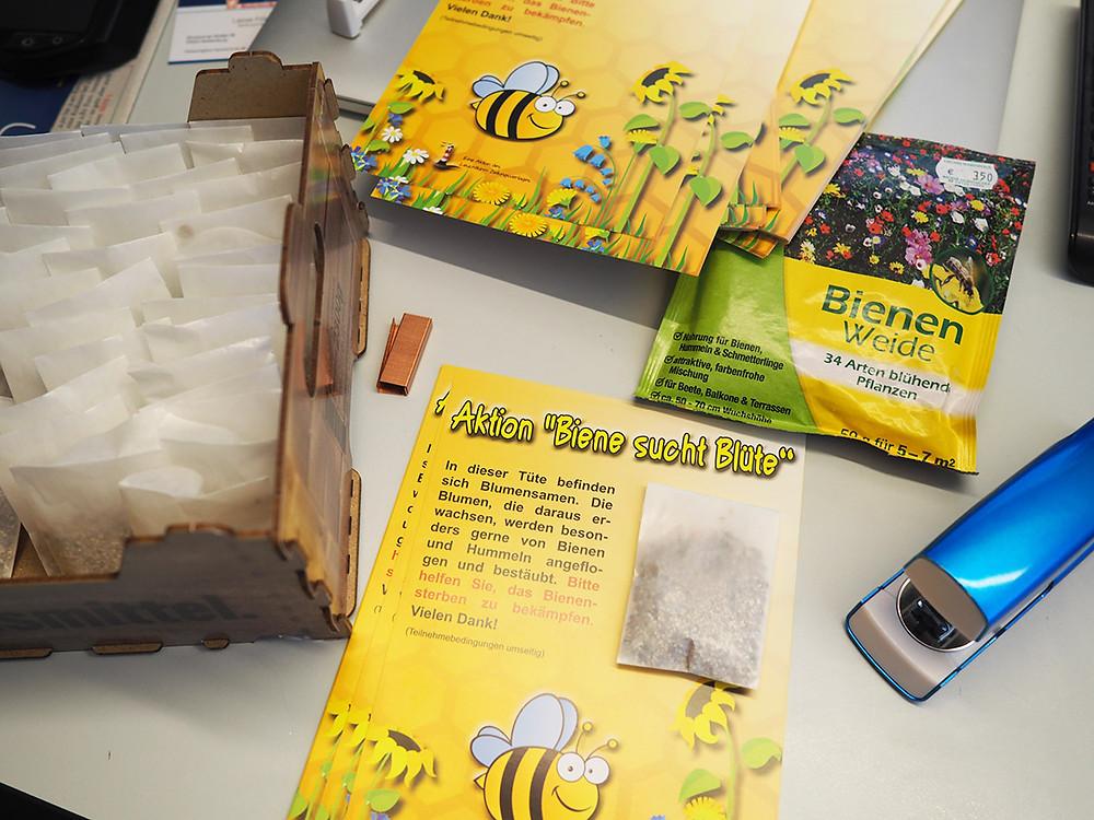 Bienen , Insekten, Aktion, Flyer