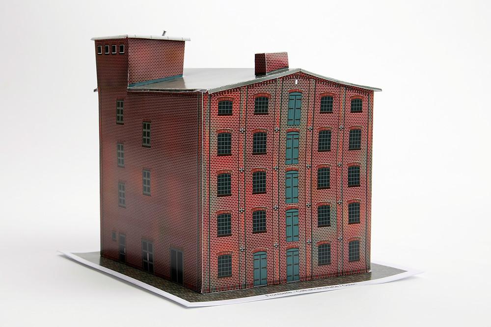 Das Elmshorner Industriemuseum als Bausatz