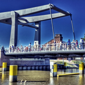 Käpten-Jürs-Brücke voll gesperrt