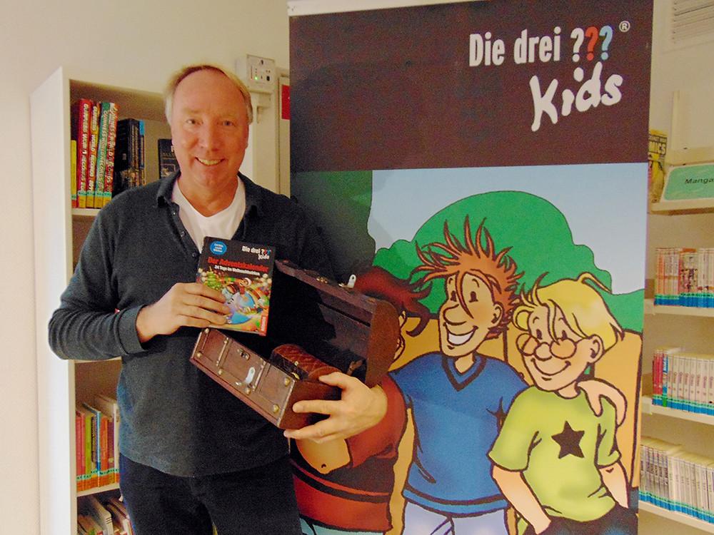 Autor Ulf Blanck, Erfinder der Drei ??? Kids, Stadtbücherei Elmshorn