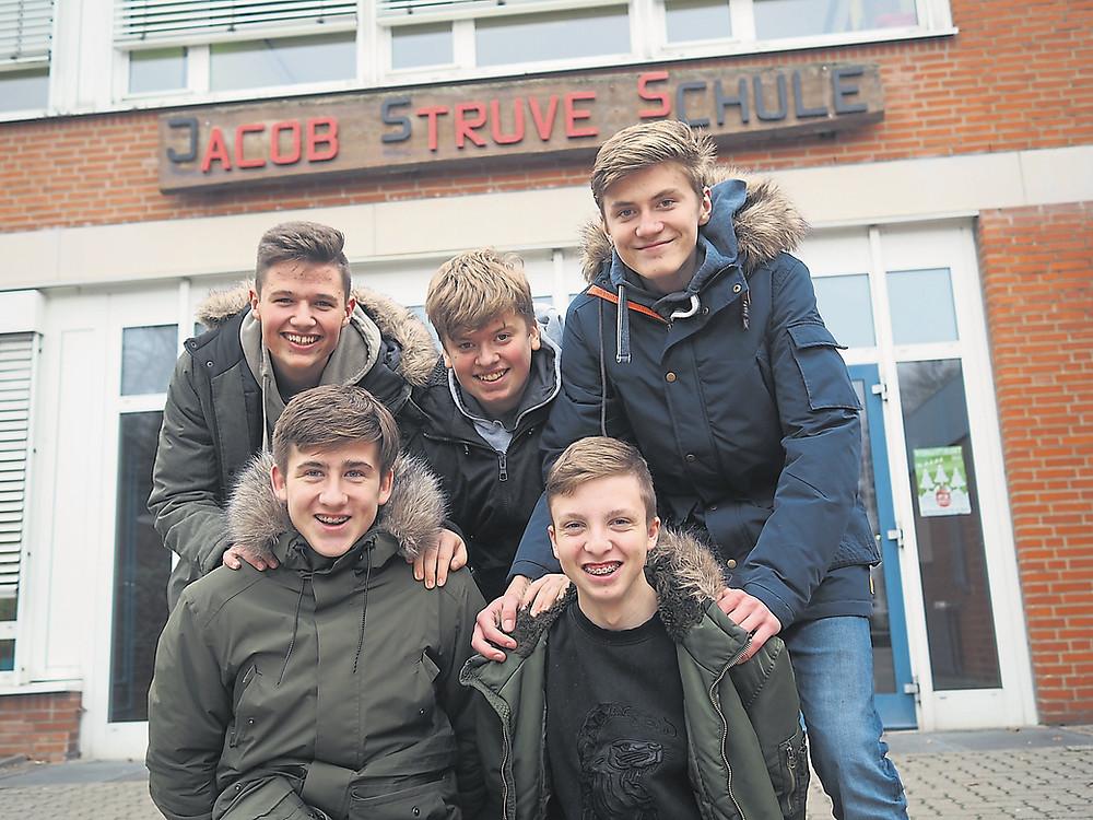 Schule in Horst, Jacob-Struve-Schule. Schüler veranstalten Musikevent