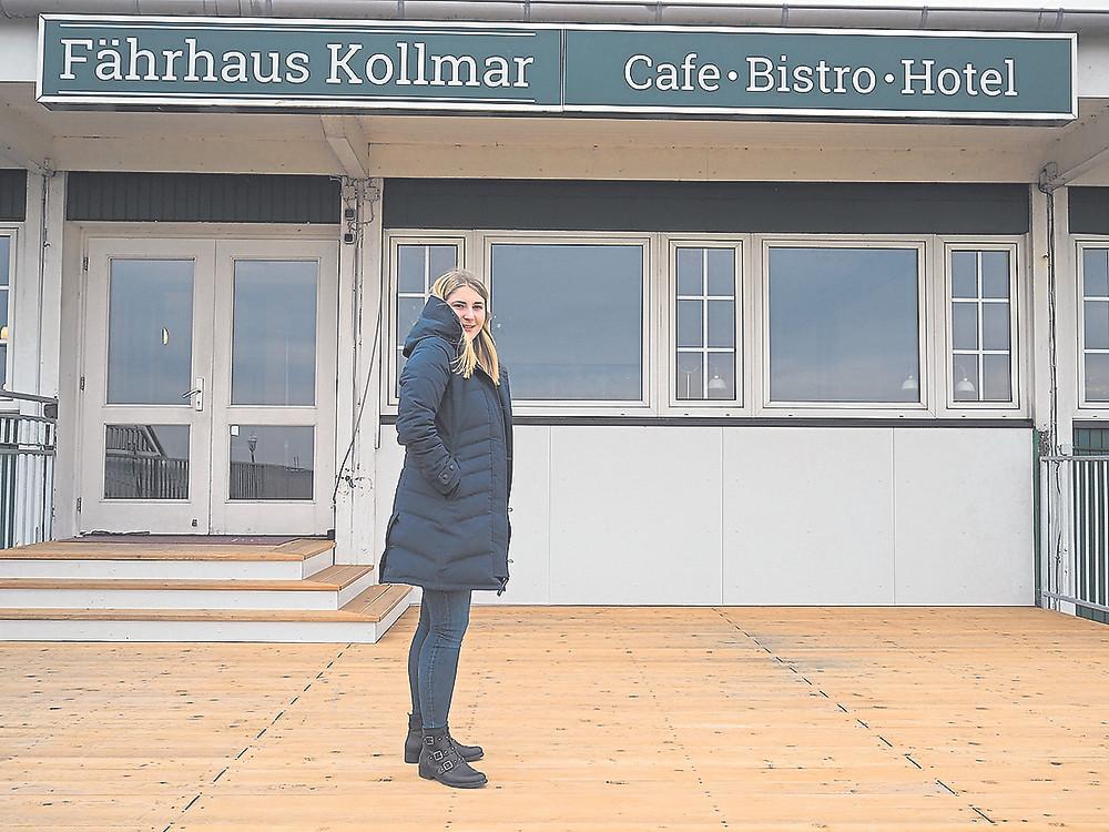 Kollmar, Fährhaus, Eröffnung, Katja Wittmaack