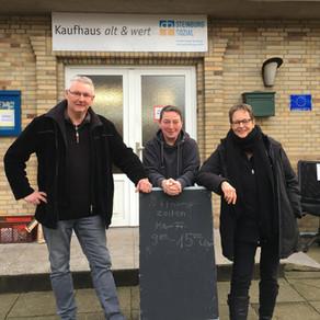 """Sozialkaufhaus """"alt & wert"""" ist wieder geöffnet"""