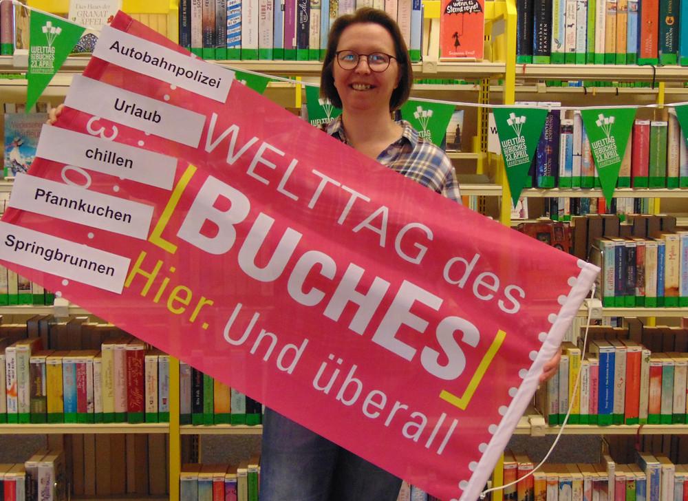 Welttag des Buches, Bücherei, Stadtbücherei, Elmshorn, Leuchtturmverlag, Horst, Zeitung