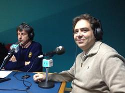 En la radio con Claudio de Miguel- Reducida