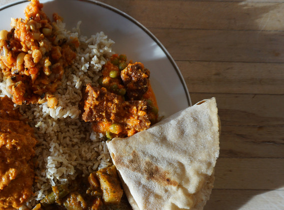 Indian Curry Buffet