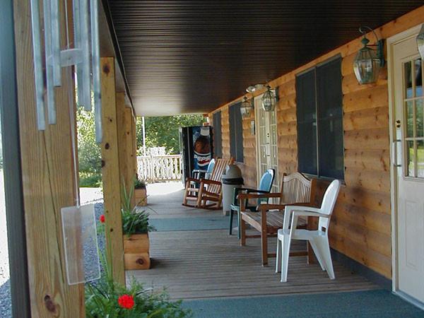 Reception Center Porch