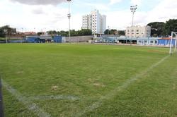 Campo gramado de Futebol