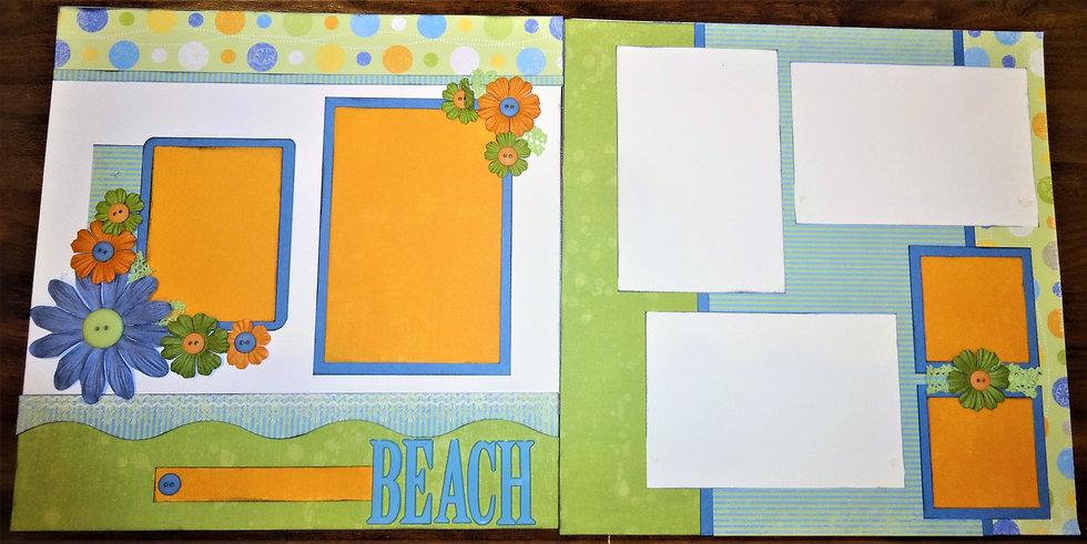 Beach Page Kit