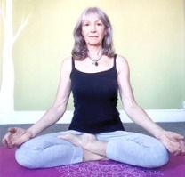 Hip opening to sit cross legged
