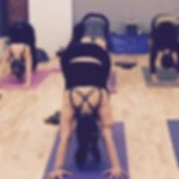 Yoga class in Bristol
