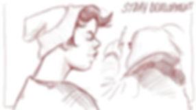 digital doodles #tvpaint #sva #sketch.jp
