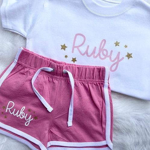 Shorts & Tshirt Set