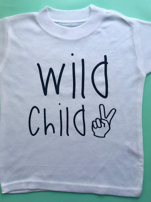 Wild Child Vest/Tshirt