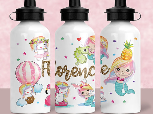 Mermaidicorns water bottle