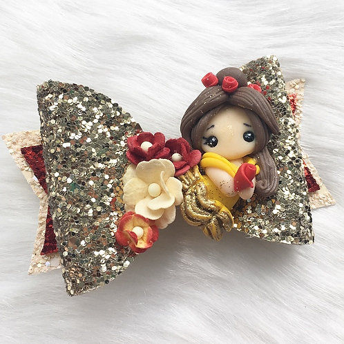 Rose princess bow