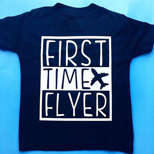 First time flyer Vest/Tshirt