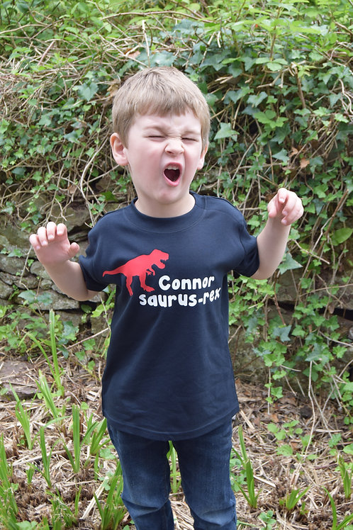 T-Rex Personalised T-shirt/Vest