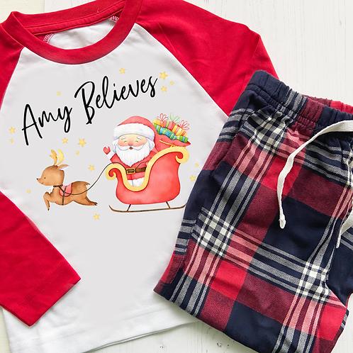 Santa Pyjamas Kids