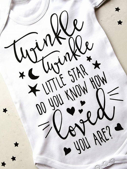 Twinkle Twinkle Vest/T-shirt