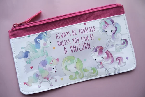Unicorn Fabric Pencilcase