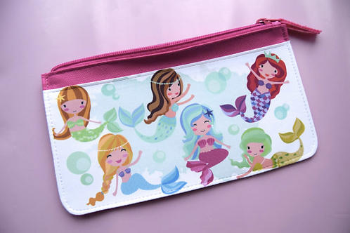 Mermaid Fabric Pencilcase