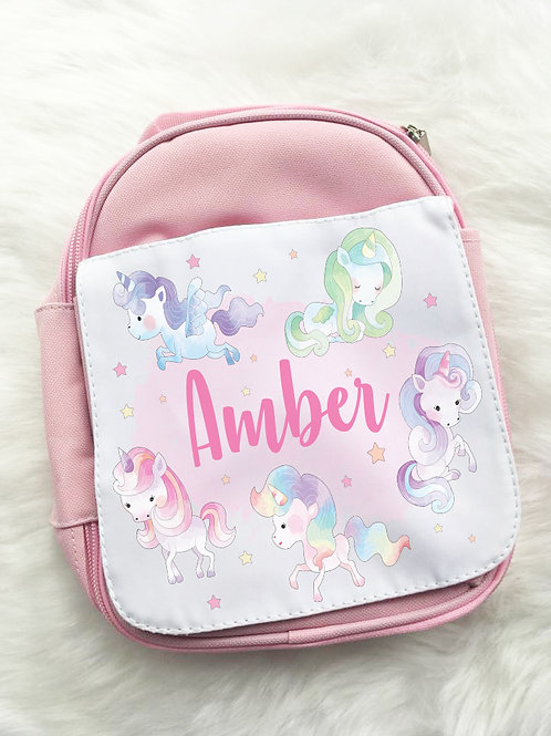 Pastel unicorns lunch pack