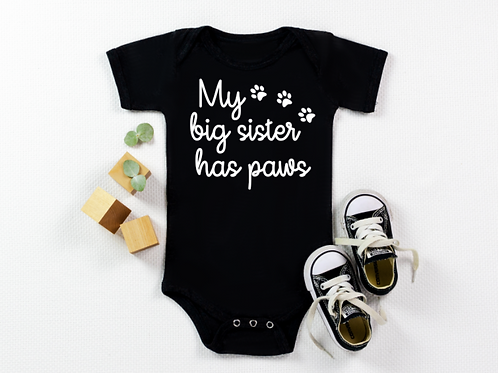 Pet sibling vest/tee