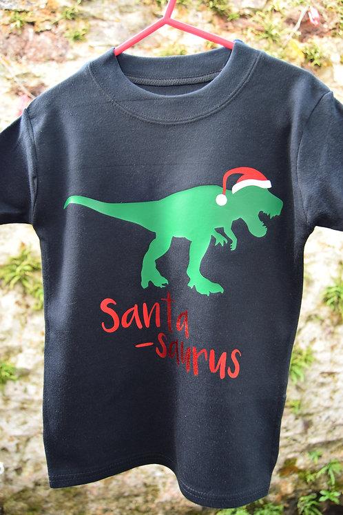 Santa-Saurus T-shirt/Vest