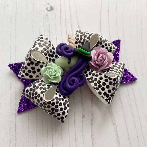 Witchy unicorn bow