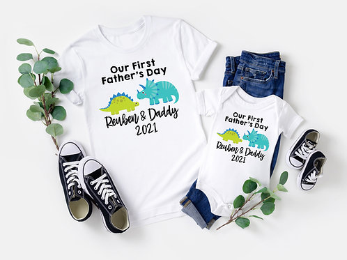 Father's Day Dino Tees
