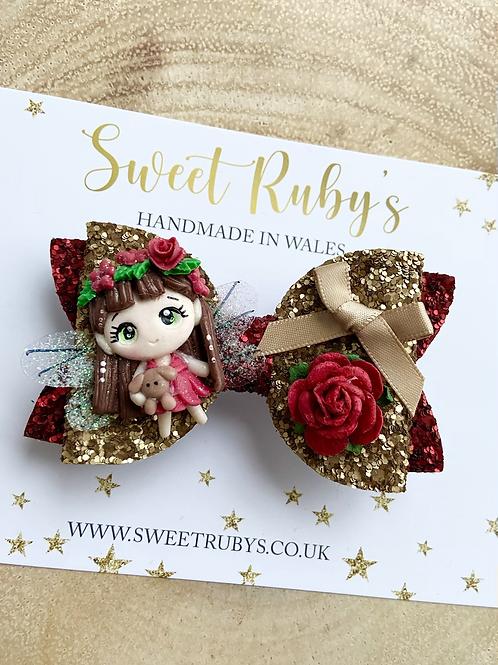 Festive fairy bow