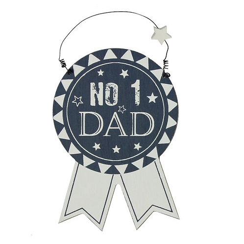 Dad Hanging Rosette