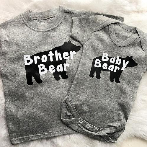 Big & Baby Bear Tees