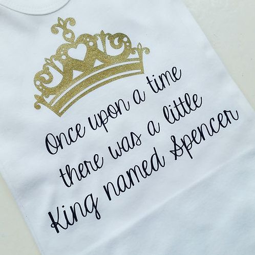 'Once upon a time' Vest/T-shirt