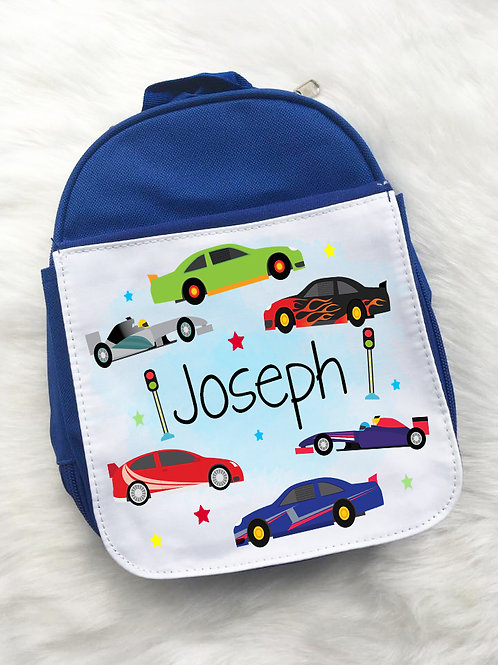 Race cars lunch pack