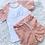 Thumbnail: Name Ribbed Shorts and Tshirt Set