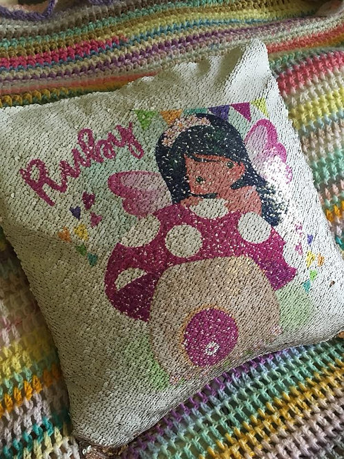 Fairy Magic Cushion Cover