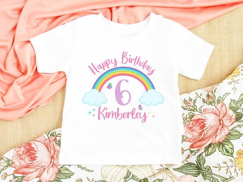 Rainbow Birthday Tee