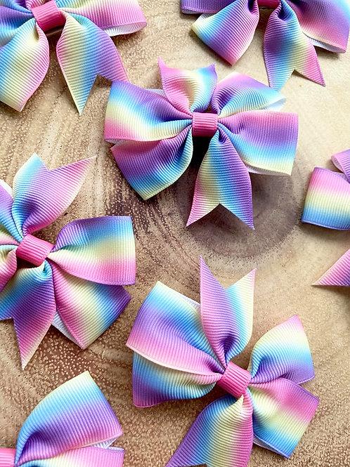 Rainbow Ribbon Bows