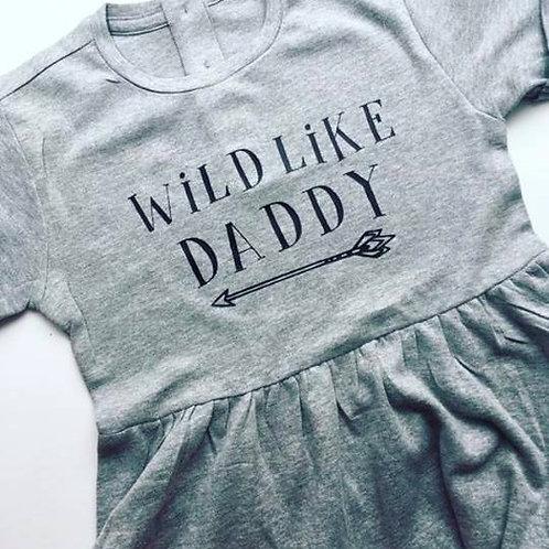 Wild Like Daddy Dress