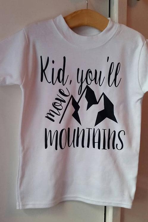 Kid You'll Move Mountains Vest/Tshirt