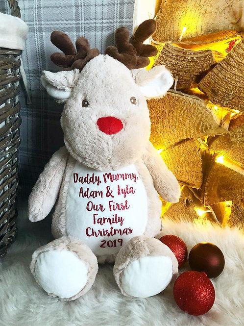 Large Personalised Christmas Reindeer