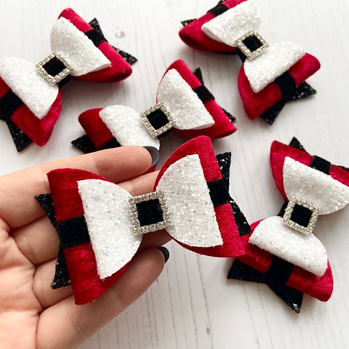 Santa's belly bow