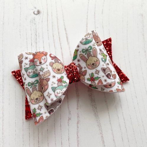 Christmas friends bow