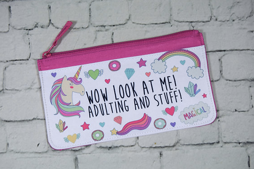 Adulting Pencil Case