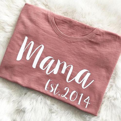 Mummy Est tee