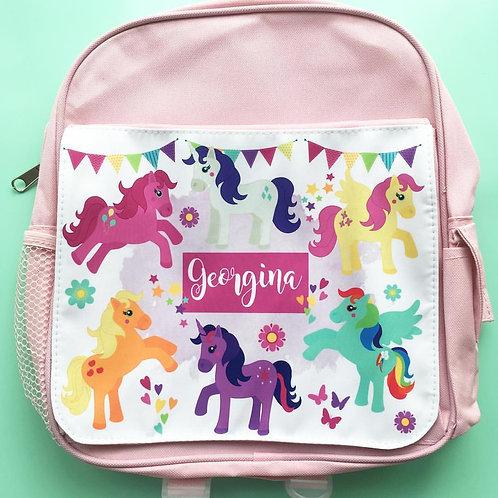 Pony kids backpack
