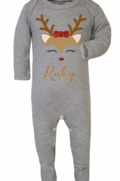 Reindeer Babygrow